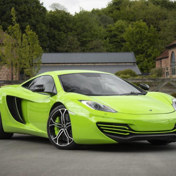 McLaren 12C & £3,000