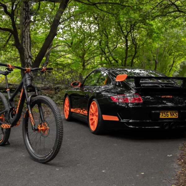 Custom Santa Cruz GT3RS Inspired Mountain Bike!
